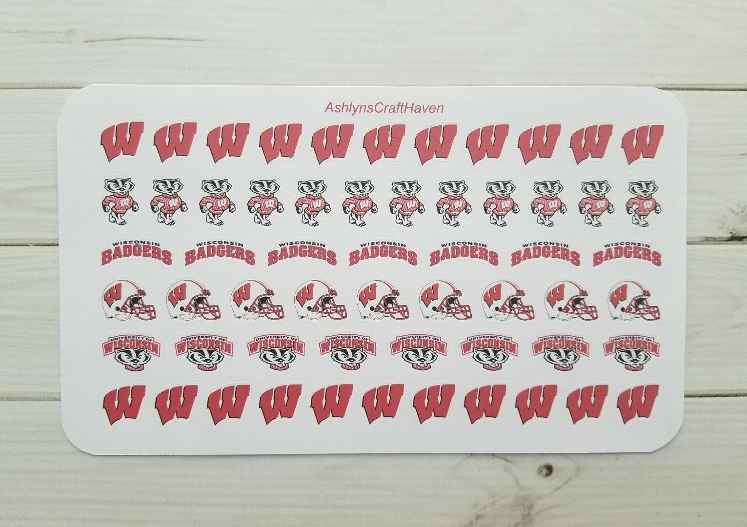 58 College Football Planner Stickers- Perfect For Any Planne