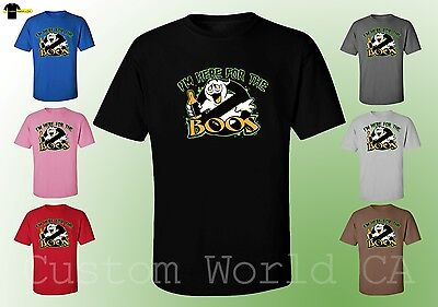 Halloween shirts -  I`m Here For The Boos Men Funny T-Shirt New Design