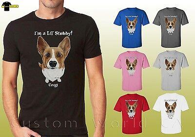 Dog Design Tee T-shirt - Corgi Graphic Shirts Dog Lovers Tee Corgi Design Unisex T-Shirt (19646hd4)