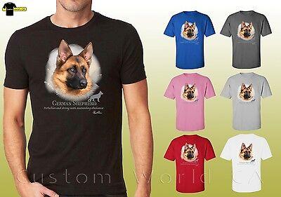 (German Shepherd Shirts Cute Friendly Dog German Shephard Unisex T-Shirt (17406))