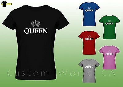 Queen Shirt - Women Tee - Queen Crown Tee - T Shirt for Queens](Crowns For Queens)