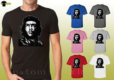-  Che Graphic Shirts Che Guevara Shirt  Cuba Che Face Tee Unisex T-Shirt (17575d)