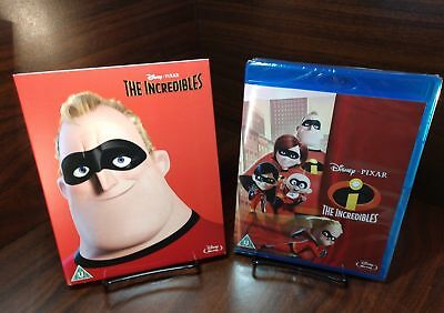 The Incredibles [Blu-ray] [Region Free] (Limited Edition Slipcover)NEW-Free S&H - Buy The Incredibles
