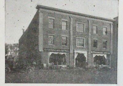 1920 Antique Letterhead House Furnishers ~ Saco Maine