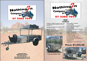 Nothing 2 It Camper Trailer by ATT! Beenleigh Logan Area Preview