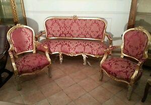 Salotto-francese-in-foglia-oro-set-completo