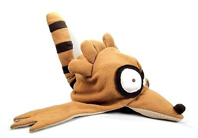 REGULAR SHOW RIGBY FLEECE HAT COSPLAY CAP SKI COSTUME - New Regular Show Halloween