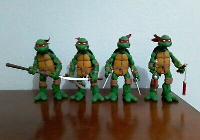 Used, NECA Ninja Turtles 2008 TMNT Action Figures Authentic Loose Lot Set for sale  Shipping to India
