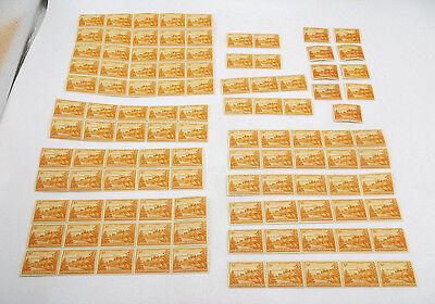 Norfolk Island Stamp Scott #1 - Lot of 100+ Blocks, Strips, Singles - All MNH