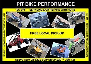 PARTS 5% OFF WITH SERVICING &/OR REPAIRS - CHINESE MOTORBIKES Kingston Logan Area Preview
