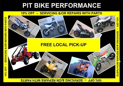 PARTS 10% OFF WITH SERVICING &/OR REPAIRS - CHINESE MOTORBIKES Kingston Logan Area Preview