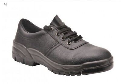 Portwest FW14 Protector Shoe S1P UK 6 EU 39 WK01 92