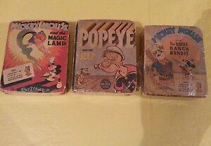 Fumetti Topolino e Braccio di ferro anni 30 americani - Italia - Fumetti Topolino e Braccio di ferro anni 30 americani - Italia
