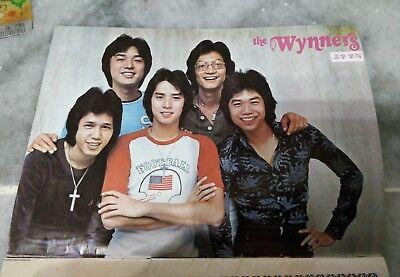 新潮旋律册 The Wynners Hong Kong 香港温拿乐队Alan Tam Kenny Bee Anthony Bennett Danny +高山