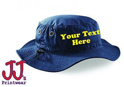 Personalised custom printed Cargo Bucket Hat, holiday, festival, sun, fishing](Personalized Bucket Hats)
