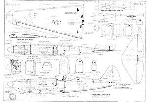 Model Plane Plans | eBay
