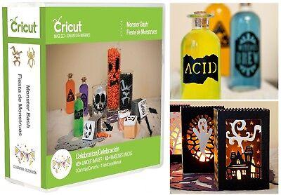 Cricut Cartridge - Monster Bash, Halloween Party Decor, Drink Labels, Lanterns