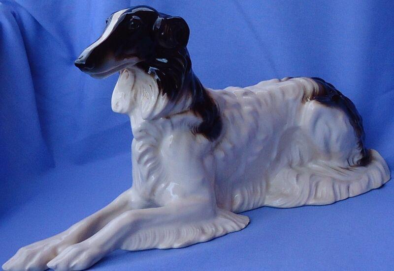 "1940s BORZOI HERTWIG GERMANY 15"" dog"