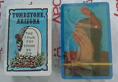 Tombstone Arizona Playing Cards