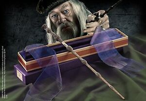 Harry Potter Dumbledore The Elder wand in Ollivanders Box Licensed Prop Replica