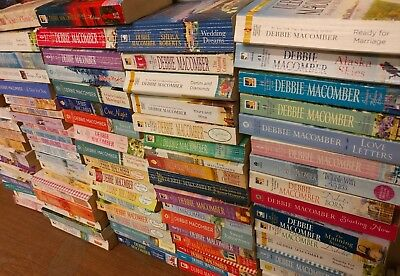Lot of 10 Debbie Macomber Series Cedar Cove Etc Romance Set UNSORTED PB Book MIX