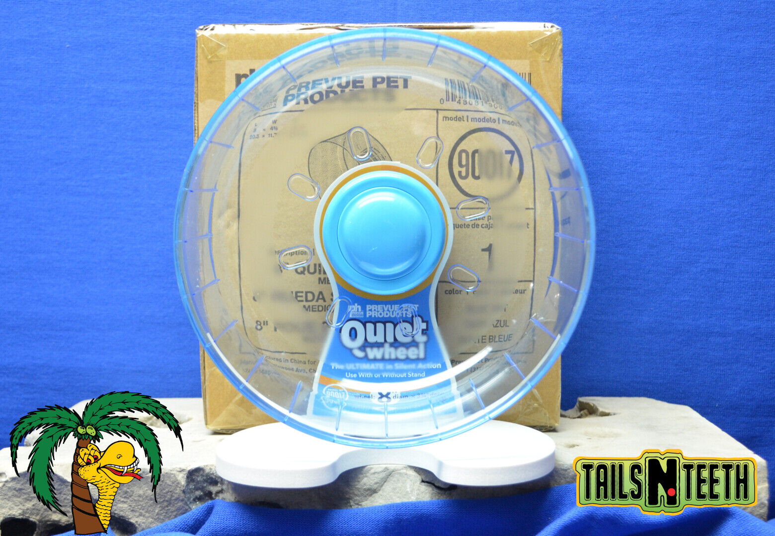 Prevue Quiet Wheel 8 THE ULTIMATE IN SILENT ACTION - For Small Animals 90017  - CA$39.99