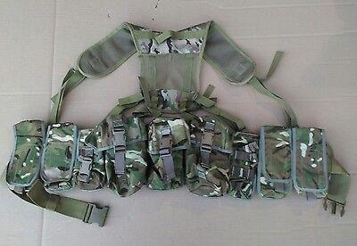 MTP / Multicam Osprey Webbing Belt Kit Set - 9 Pouches - Padded Belt - Yoke
