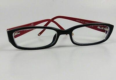Kenneth Cole Reaction KC0698 Men's Rx Eyeglasses Frame 51[]17 140mm Black/Red