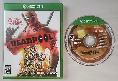 Deadpool (Microsoft Xbox One, 2015) GAME W/ CASE GUARANTEED TESTED WORKS