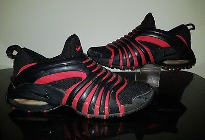 online store 7948d 920b1 Vintage 2001 Nike Air Max Tremble 173304-001 Black Red Bred Mens 9 9.5 Small