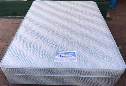 Comfortable Sleep Maker Brand Queen Bed. Delivery option availabl