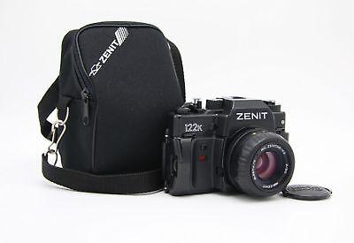 New Zenit 122K SLR film camera with Zenitar 2/50 in box. KMZ comprar usado  Enviando para Brazil