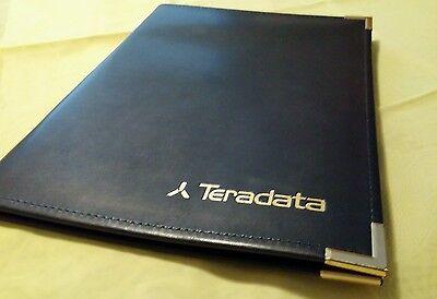Hazel Faux Leather Notepad Portfolio Folder Made In Usa Executive