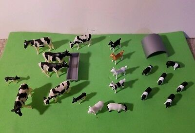 Ertl Farm Ranch Dairy COWS ,  Pigs, Goats& Sheep   1/64 SCALE Super set. NEW  for sale  Shipping to Canada