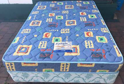 Excellent double bed base with mattress. Delivery can do