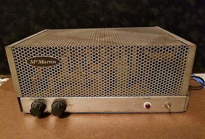 Rare McMartin TN-77CB, Tube, SCA Multiplex Receiver Vintage Unit