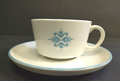 FRANCISCAN POTTERY FAMILY CHINA MEDALLION CUP AND SAUCER Coffee Tea Espresso
