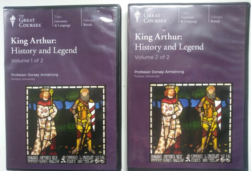 King Arthur: History and Legend: The Great Courses. Compact Audio Discs.