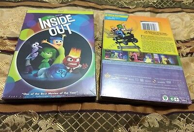 Inside Out Dvd Brand New W Slipcover Free Shipping Factory Sealed