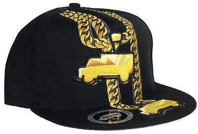 New Trukfit Lil Wayne Cuban Chain 24k Gold - Lil Wayne Hats