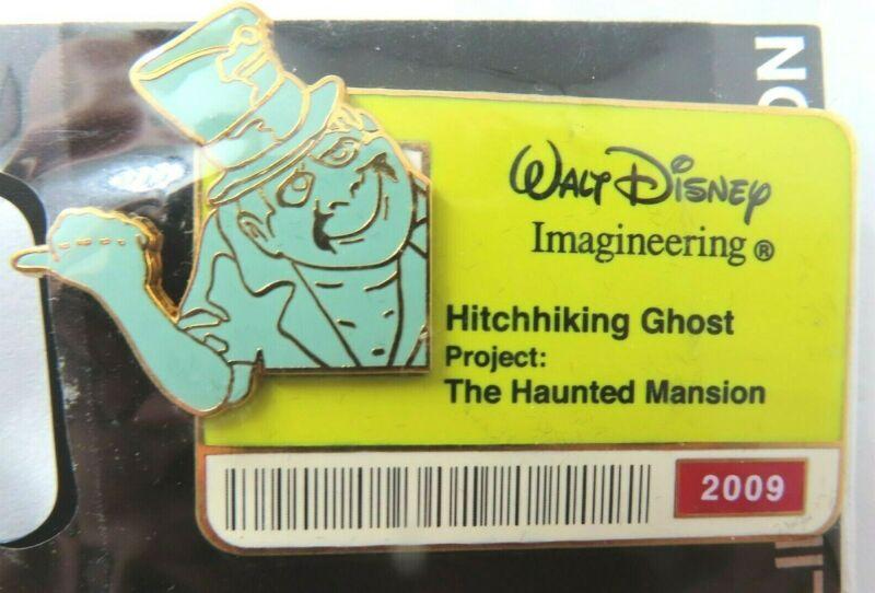 Disney Pin * WDI ID Badge Series 2009 Hitchhiking Ghost - Phineas  LE 300 #70874