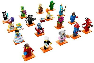 LEGO Collectible Minifigure Series 18 COMPLETE SET OF 17 SEALED 71021
