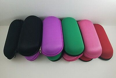 """6"""" Padded Pouch Hard Case Protective for Smoking Pipe Storage Zipper Carry Case"""