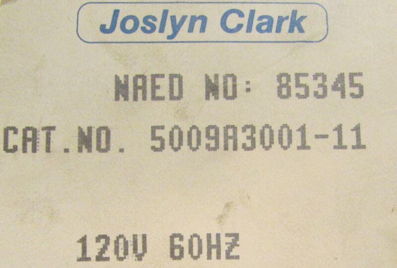 SYLVANIA JOSLYN CLARK 5009A3001 11 Contactor 110-120V 85345