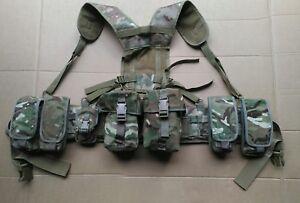 MTP / Multicam Osprey Webbing Belt Kit Set - 7 Pouches Padded Belt PLCE Yoke