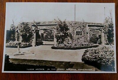Kensington Arch (KENSINGTON TUDOR ARCHES DERRY GARDENS POSTCARD)