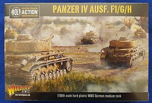 Warlord games bolt action Panzer iv AUSF F/G/H
