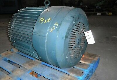 100 Hp Baldor-reliance Ac Electric Motor 1800 Rpm Fr 405t Tefcbb 460 V Eok