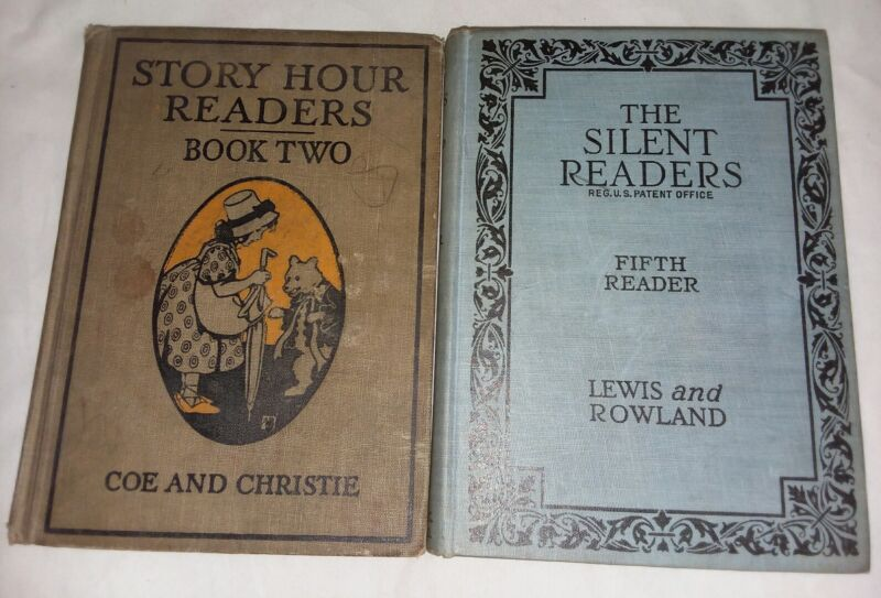 Antique Story Hour Reader Book 2 Silent Readers 5th Reader 2 Books