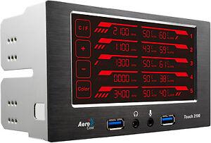 New-AeroCool-EN51965-Touch-2100-LCD-Touch-Fan-Temparture-Controller-Retail